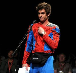 Andrew Garfield at Comic-Con 2011