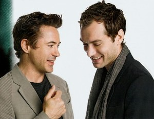 The Bromance of Jude Law and Robert Downey, Jr.