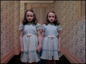 Twins from The Shining.