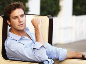Armie Hammer is so good at posing